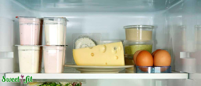 Как хранить сыр, масло, птицу, рыбу, мясо и яйца?