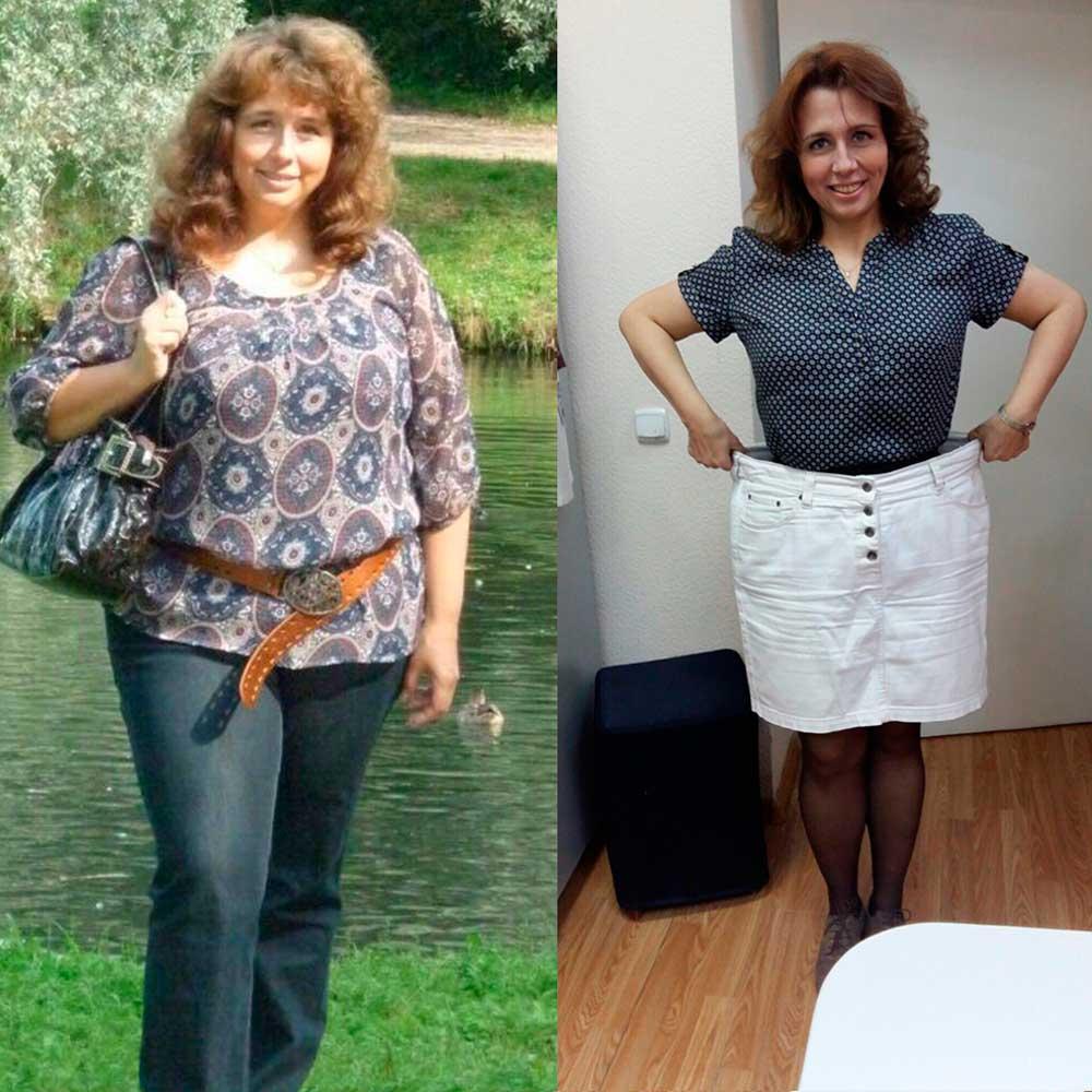 Наталья - фото похудения на 25 килограммов