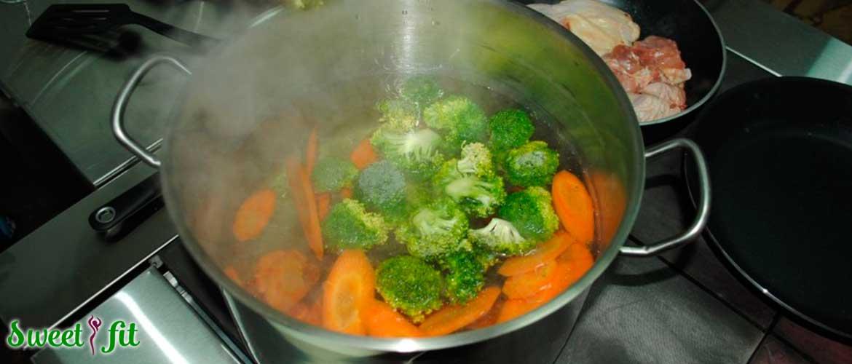 Как сохранить полезность овощей при термической обработке?